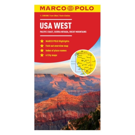 Usa Nyugati Part Terkep Csendes Oceani Partvidek Sierra Nevada